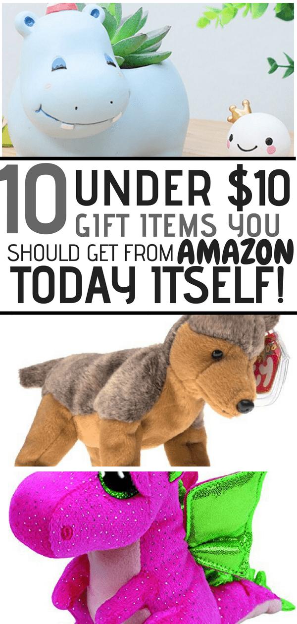 gift items under $10 amazon