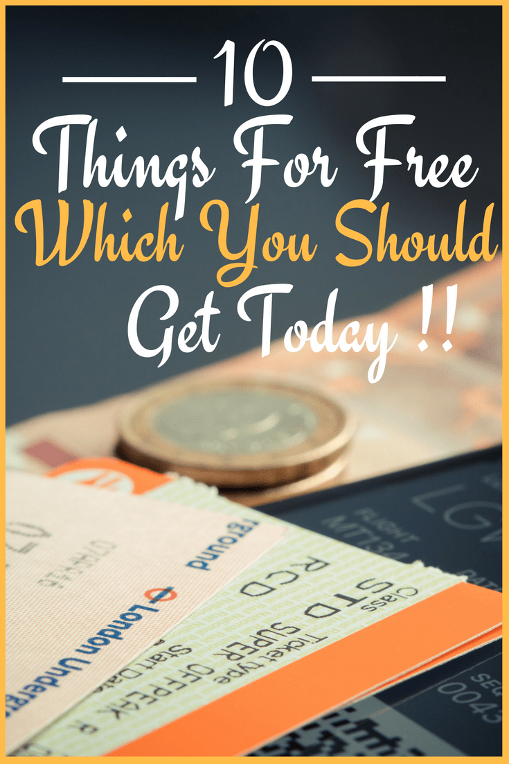 free things you can get today