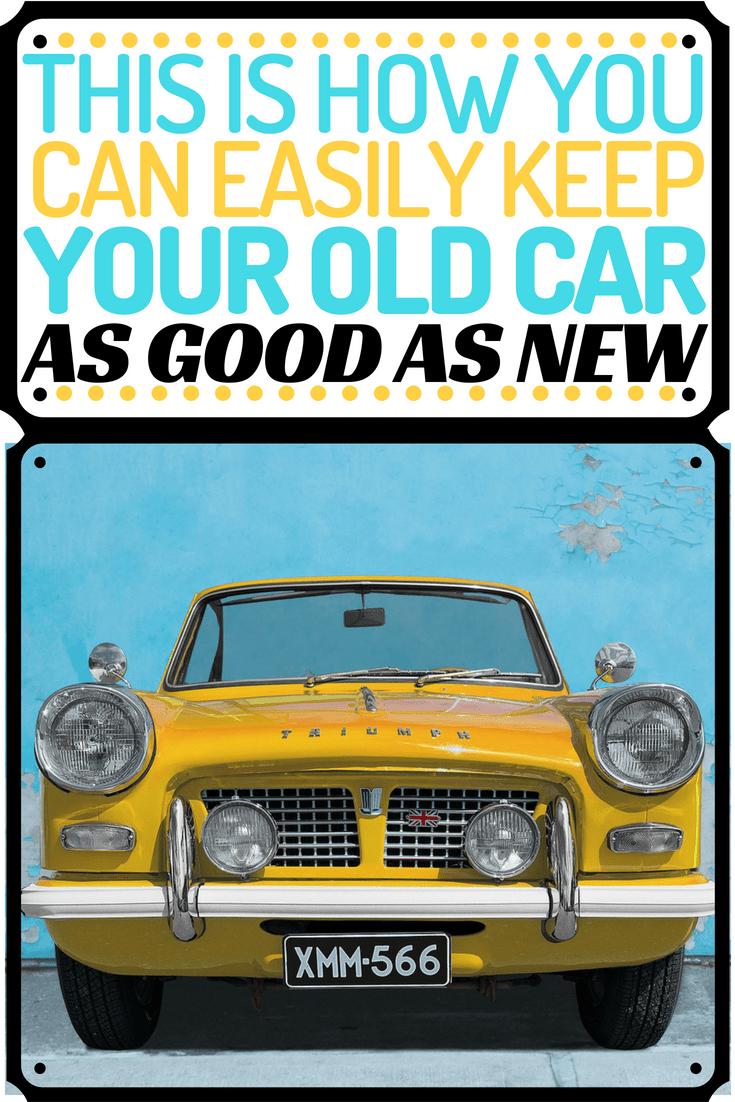 EASILY make old car look good as new pin