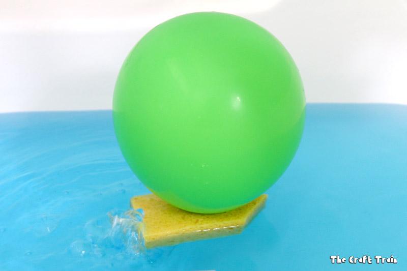 balloon boat