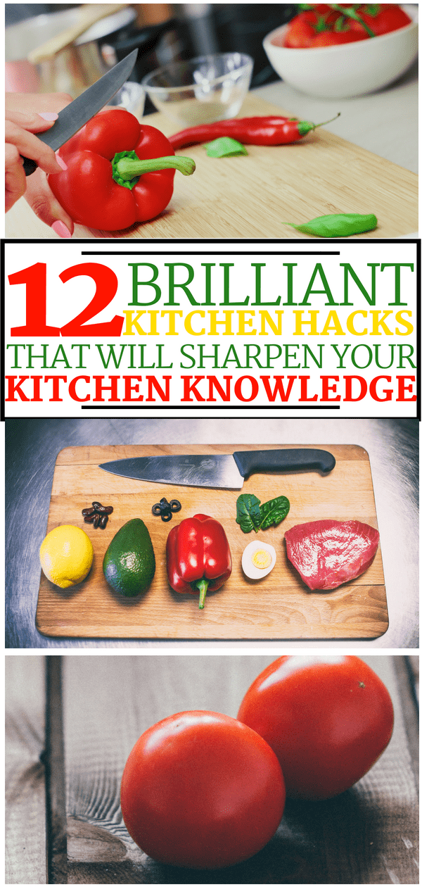 kitchen hacks pin