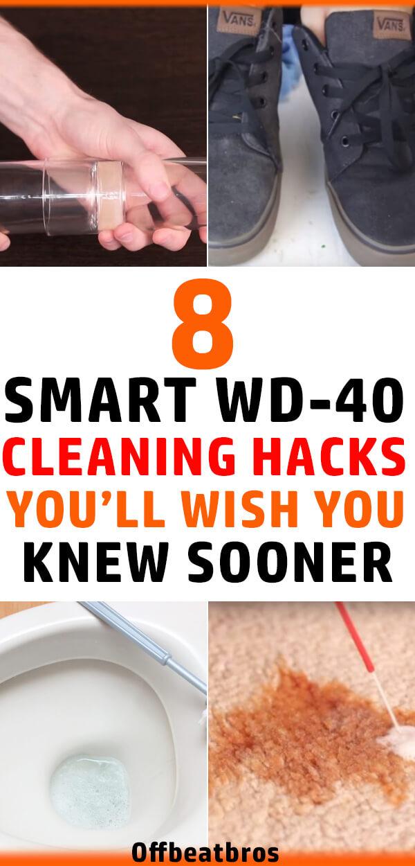 40 Bathroom Cleaning Hacks