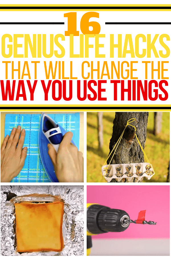 lifehacks to change the way you use things