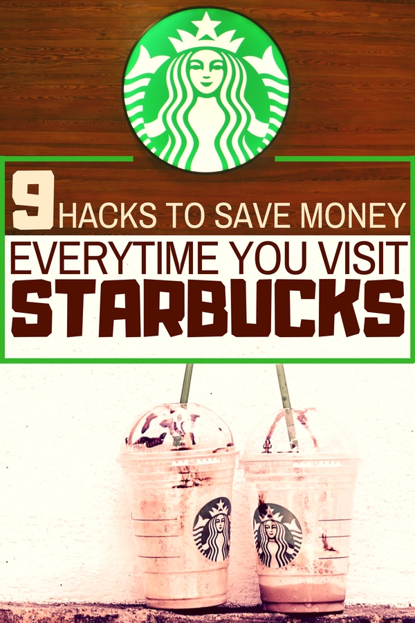 starbucks hacks to save money