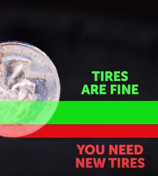 tyre tread checking