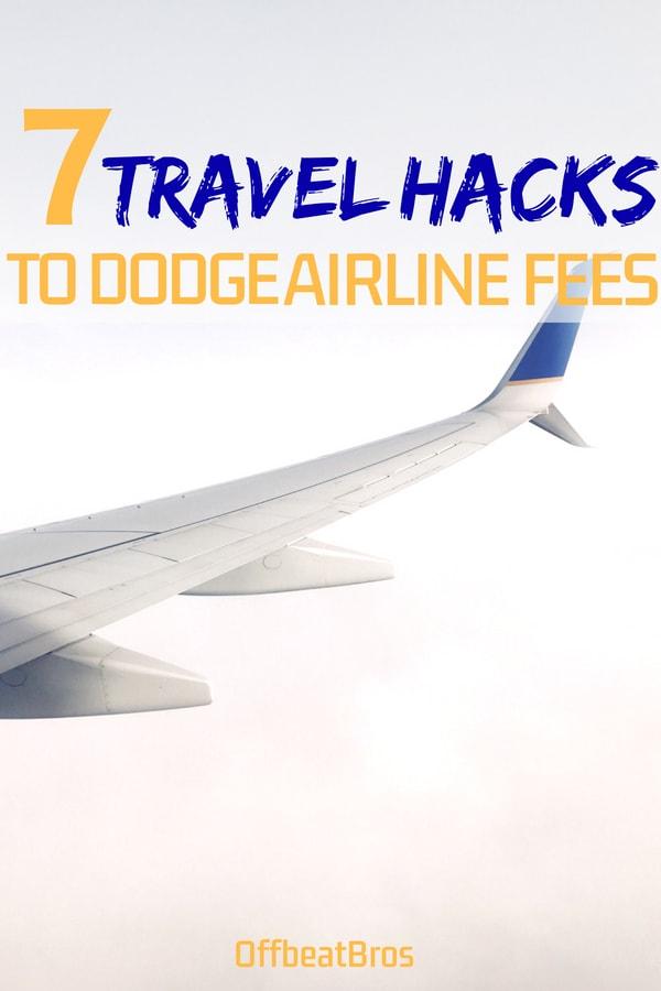 travel hacks for airline fee