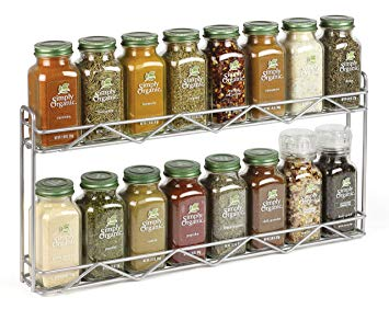 Kitchen organization ideas - spice rack