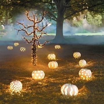 simple halloween decor idea