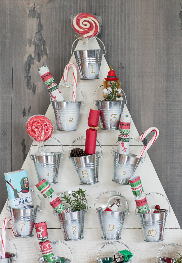 Diy Christmas decoration ideas - Advent calendar