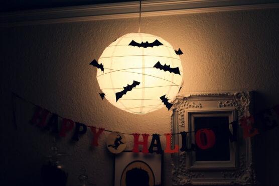 Bat Lanterns halloween decoration