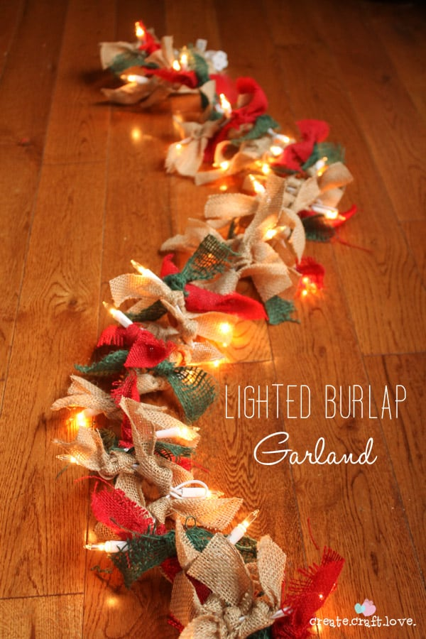 Diy Christmas decoration ideas - christmas garland