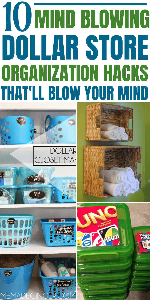 10 Mind Blowing Dollar Store Organization Hacks That Are