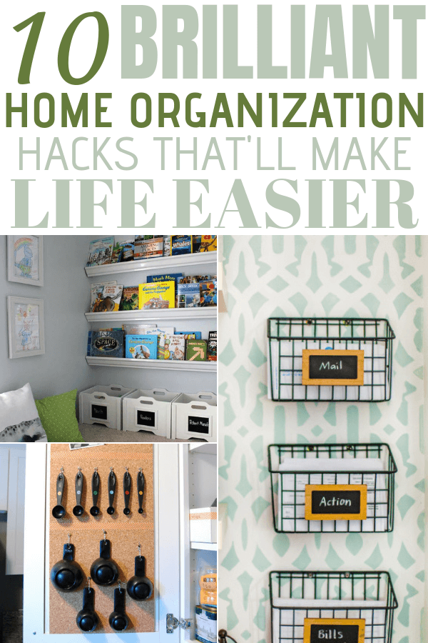 10 Amazing home organization ideas that are truly genius