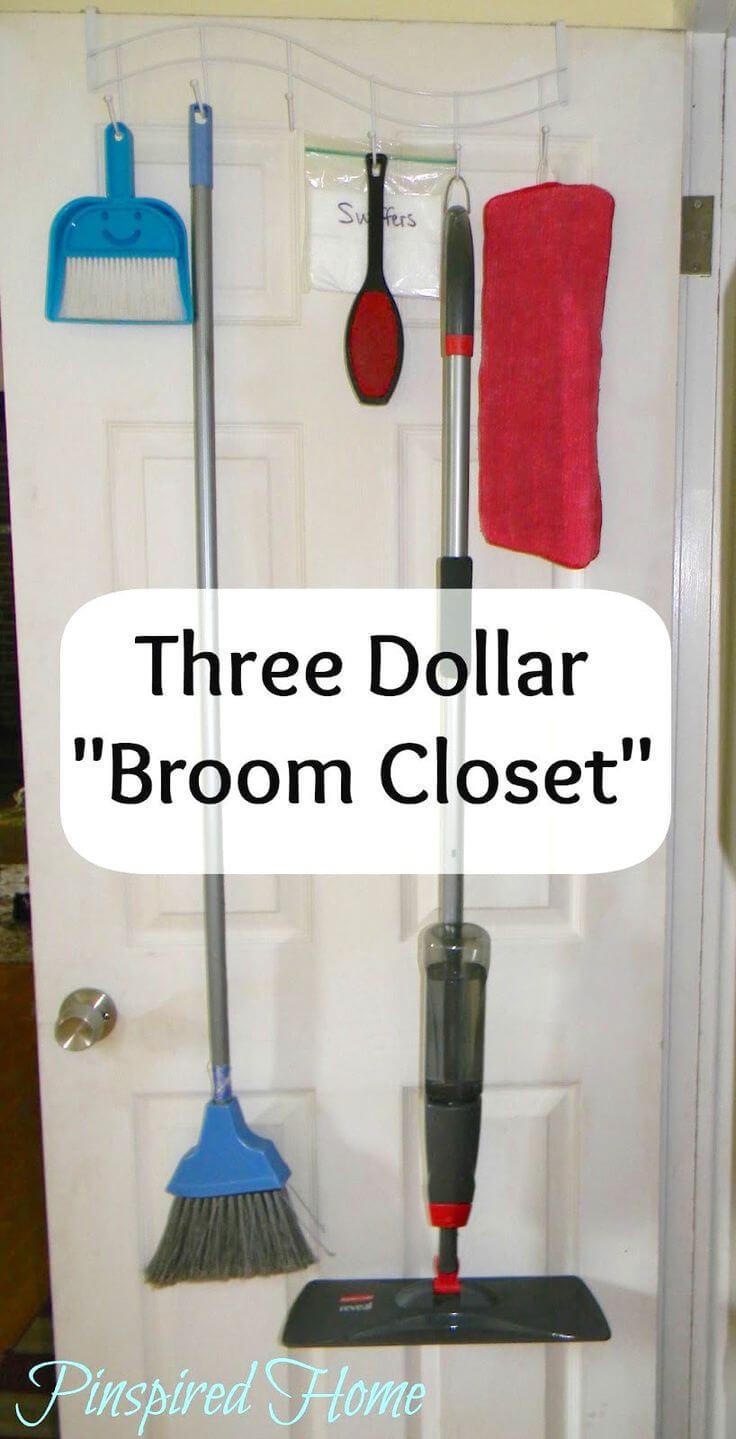 Three dollar broom closet