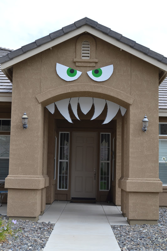 Monster Face Home halloween