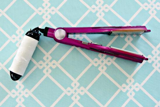 Bathroom organization ideas - organized cords