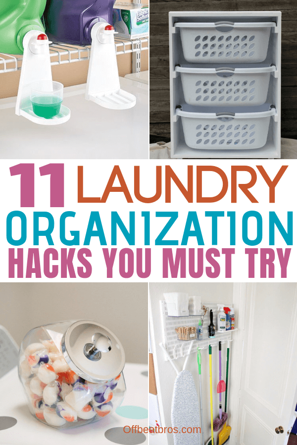 11 Laundry room organization hacks you must try