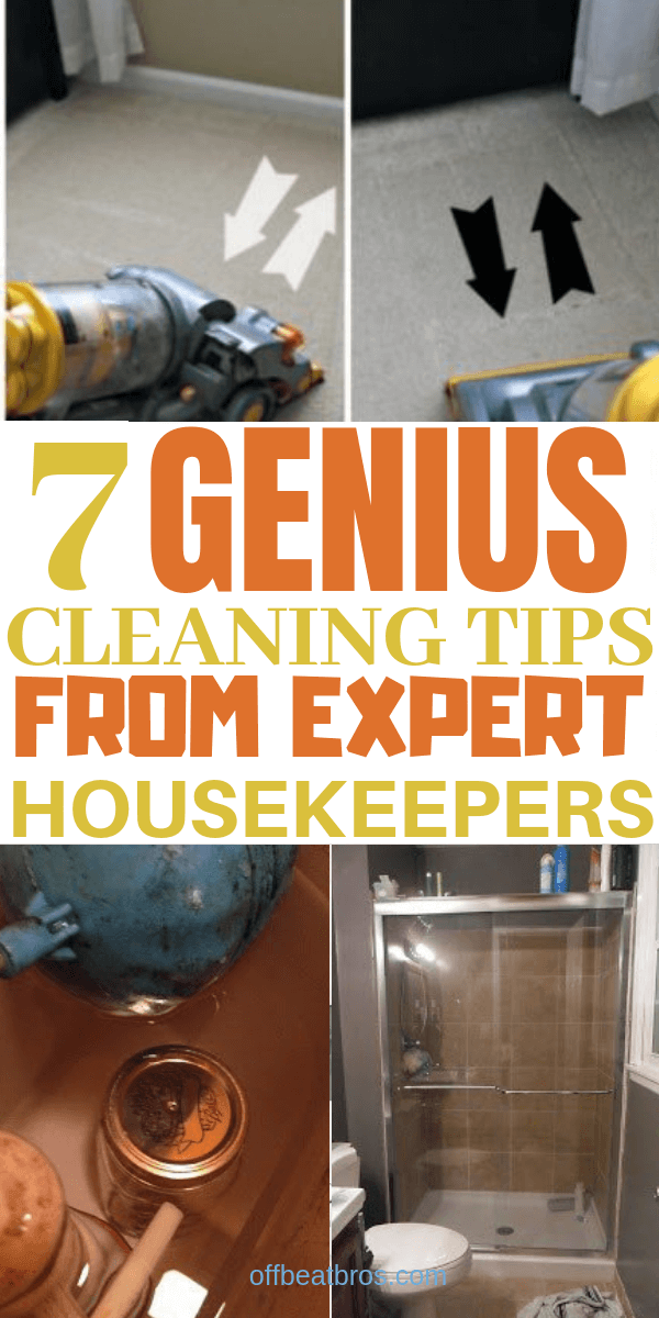 cleaning hacks that'll save a lot of time.