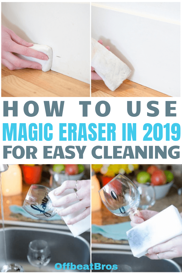 13 Incredible Magic Eraser Tricks That Will Blow Your Mind