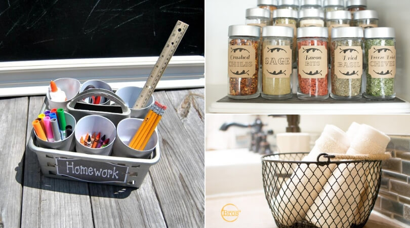 13 creative dollar store organization hacks for your home