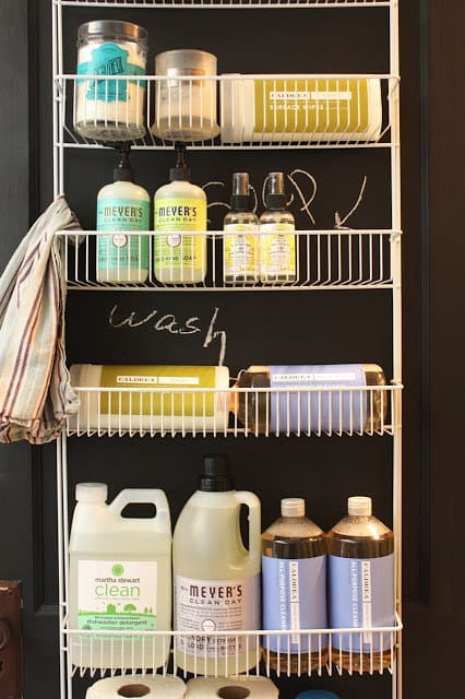 laundry room organization hacks