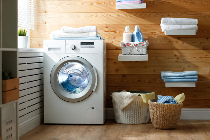 Toile Laundry Room Ideas: 11 Laundry Room Ideas That Will Make Doing Laundry So Much