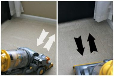 vaccum the right way cleaning tips