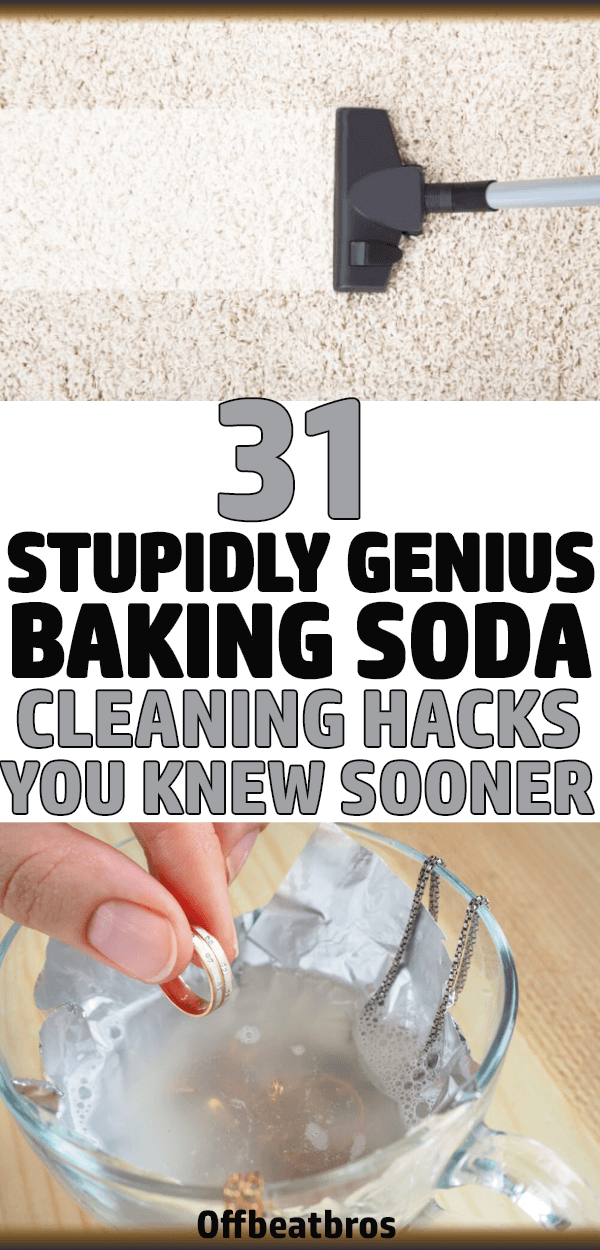 30 Genius Baking Soda Cleaning Hacks for Your Home