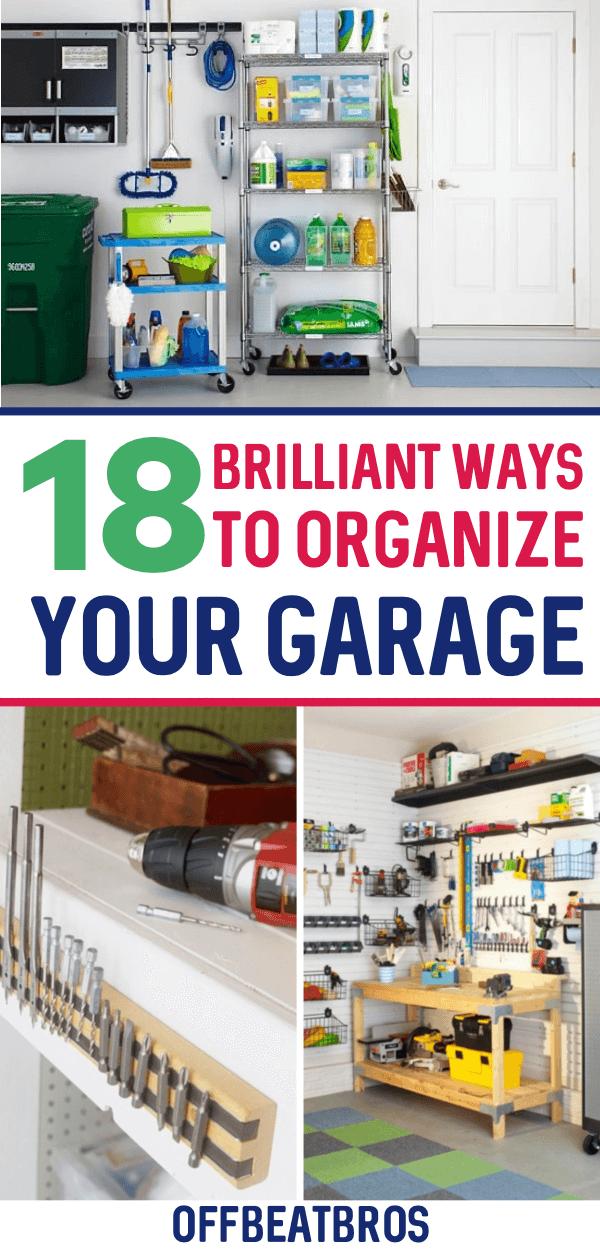 18 Genius Garage Organization Ideas You, Organizing Your Garage On A Budget