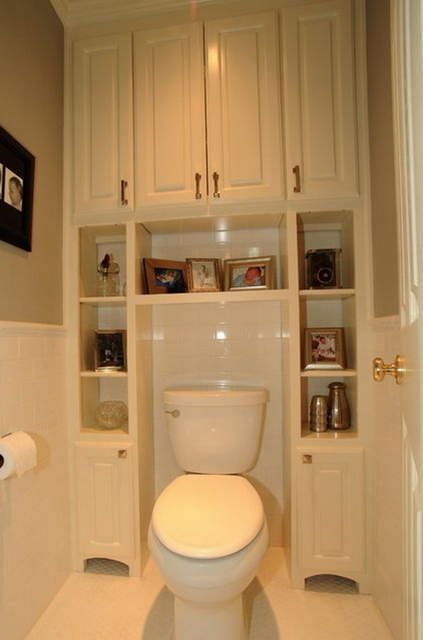 Toilet Storage Ideas For Extra E