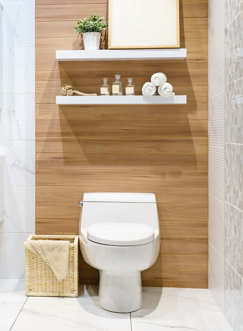 Picture of: 21 Genius Over The Toilet Storage Ideas For Extra Space