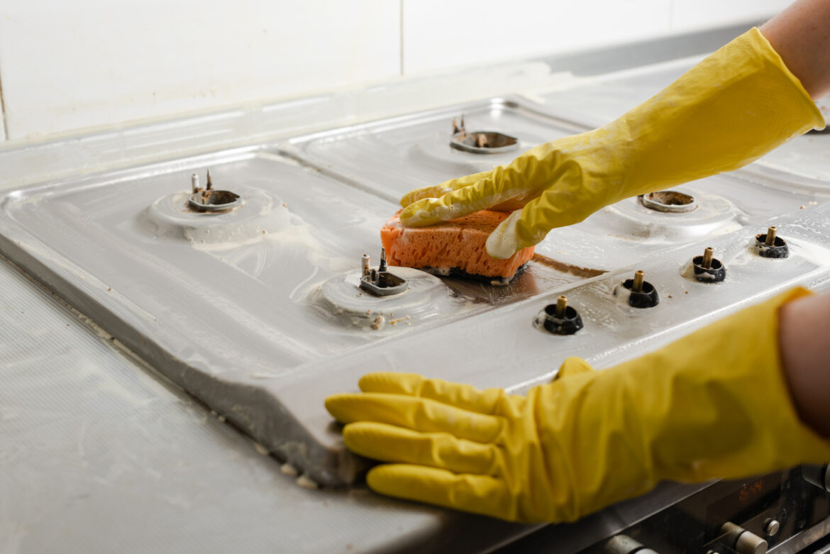 13 Genius Cleaning Tips To Make Your Dirty Stove Top Sparkle