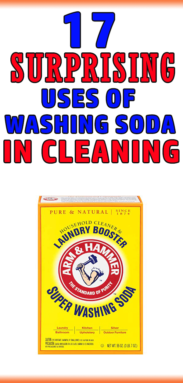 17 Surprising Household Uses Of Washing Soda (especially