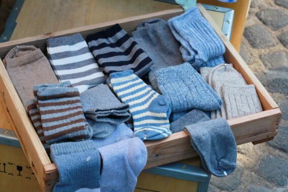 Use chenille socks as swiffer cloth